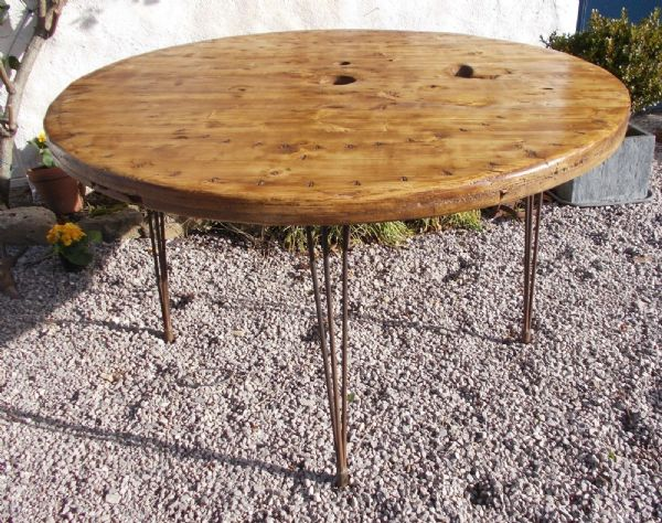 Industrial French Dining Table - g158